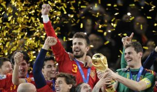 Spanien jubelt (Foto)
