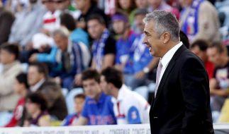 Spanien trauert um Trainer Preciado (Foto)