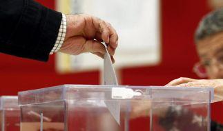 Spanien: Wahl im Schatten der Krise (Foto)