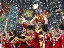 Spaniens Finaltriumph: Fiesta in Familie (Foto)