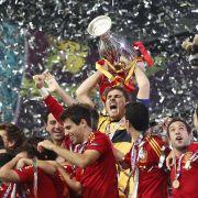 Spaniens Finaltriumph: Fiesta in Familie