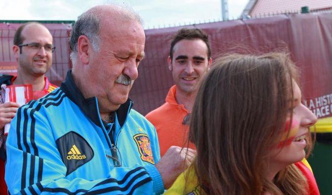 Spaniens Trainer Del Bosque verlängert bis zur WM (Foto)