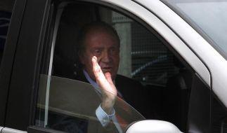 Spanier vergeben König Juan Carlos (Foto)
