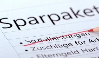 Sparpaket beschlossen - Einschnitte im Sozialbereich (Foto)