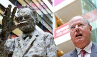 SPD-Kanzlerkandidat Peer Steinbrück verliert immer mehr anZustimmung. (Foto)