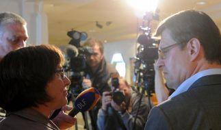 SPD und Grüne nach Sondierung in Kiel optimistisch (Foto)