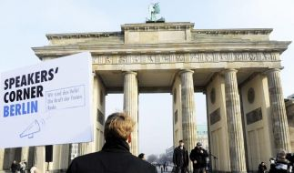 «Speakers' Corner» in Berlin? (Foto)