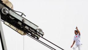 Spektakulärer Kletter-Weltrekord auf Zugspitze (Foto)