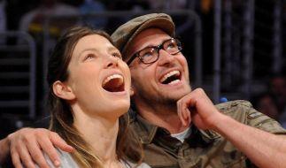 Spekulationen um Verlobung von Timberlake und Biel (Foto)