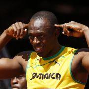 Spielt der Kopf mit? Im Vorlauf stolperte Usain Bolt.