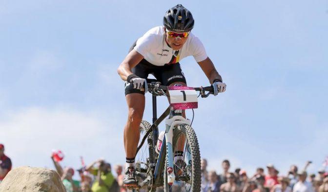 Spitz krönt Mountainbike-Karriere mit Silber (Foto)