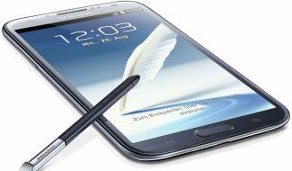 Spitzenklasse unter den Smartphones: Samsung Galaxy Note 2. (Foto)