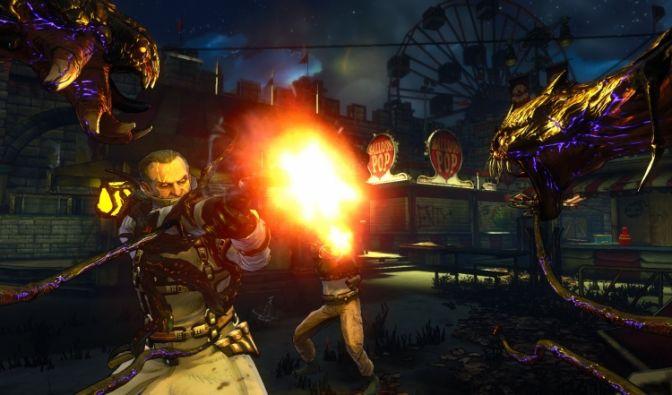 Splatter-Shooter «The Darkness II» (Foto)