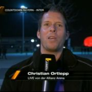 Außeneinsatz am U-Bahnhof: Reporter Christian Ortlepp.