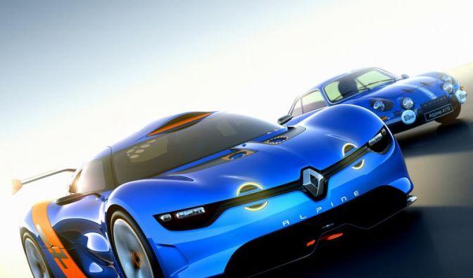 Sportwagenstudie ebnet Weg für neuen Renault Alpine (Foto)