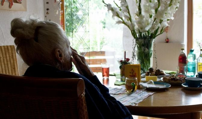 Sprachprobleme können Zeichen für Demenz sein (Foto)