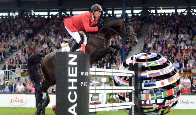 Springreiter verpassen Sieg beim CHIO in Aachen (Foto)