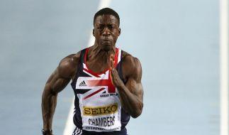 Sprinter Chambers im britischen Olympia-Aufgebot (Foto)