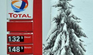 Spritpreise ändern sich täglich (Foto)