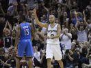 Spurs dank Tony Parker weiter auf NBA-Finalkurs (Foto)