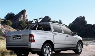 Ssangyong bietet Pick-up Actyon Sports ab 19 990 Euro an (Foto)