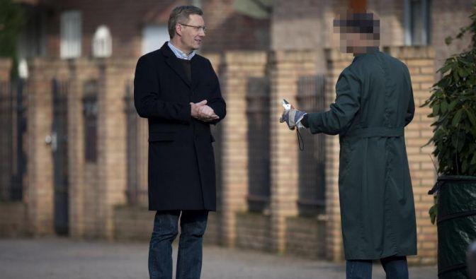 Staatsanwaltschaft durchsucht Privathaus von Wulff (Foto)