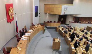 Staatsduma setzt Abrüstungsvertrag mit USA inKraft (Foto)