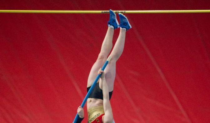 Stabhochspringerin Ryzih knackt Olympia-Norm (Foto)