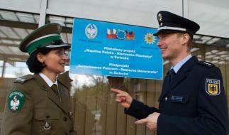 Stärker gegen Grenzkriminalität - Pilotprojekt eröffnet (Foto)