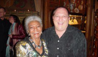 Star Trek vereint: Nichelle Nichols und Dirk Bartholomä (Foto)