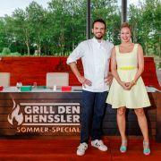 Starkoch Steffen Henssler und Ruth Moschner. (Foto)