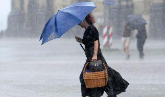 Starkregen und Gewitter: So haben wir uns den Sommer nicht vorgestellt. (Foto)