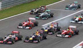 Start zum F1-Rennen (Foto)