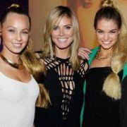 Statt drei, sind diesmal vier Mädchen dabei: Heidi Klum nimmt mit Dominique, Kasia, Luisa und Sarah Anessa Kurs aufs Finale.