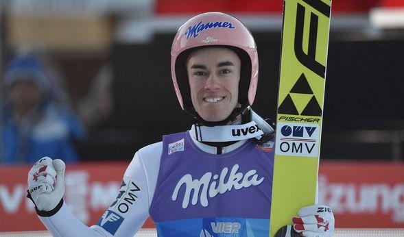 Stefan Kraft gewinnt die Vierschanzentournee 2017.