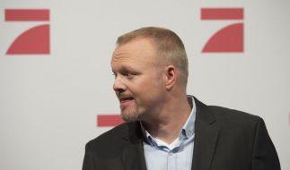 Stefan Raab freut sich auf seine neue Polit-Show. (Foto)