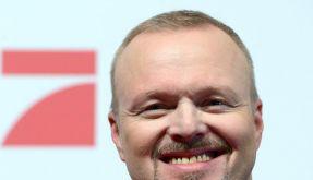 Stefan Raab ist mehr als zuversichtlich, dass seine neue Show gut ankommen wird. (Foto)