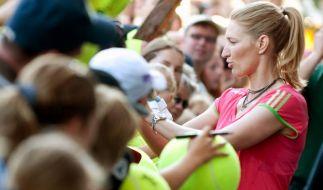 Steffi Graf auch 2012 beim Turnier in Halle (Foto)