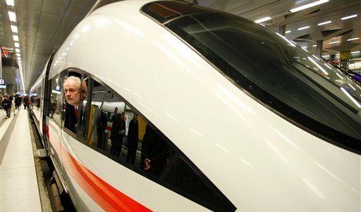 Steht der ICE bald wieder am Gleis Die Lokführer drohen wieder mit Streik (Foto)