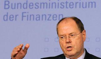 Steinbrück: Neue Schulden möglich. (Foto)