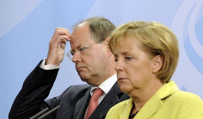 Steinbrück schließt neue Koalition mit Merkel aus (Foto)
