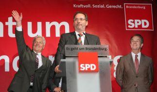 Steinmeier, Platzeck, Müntefering (Foto)