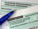 Steuererklärung (Foto)