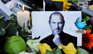 Steve Jobs und Twitter (Foto)