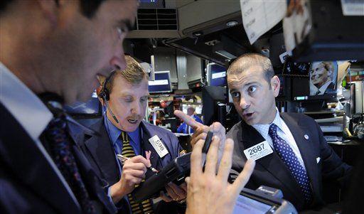 Stimmung an den Börsen. Die amerikanischen Banken verdienen wieder. (Foto)