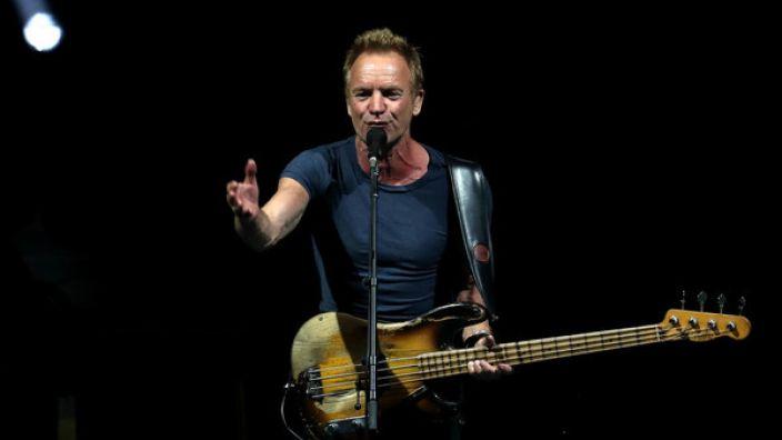 Sting kommt auch 2018 auf Konzert-Tour nach Deutschland.