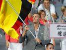 Stolzer Fahnenträger: Dirk Nowitzki. (Foto)