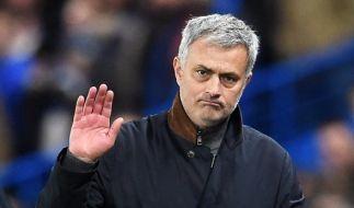 Strahlt über beide Ohren: Mourinho wird neuer Trainer von Manchester United. (Foto)