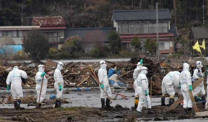 Strahlung in Fukushima steigt (Foto)