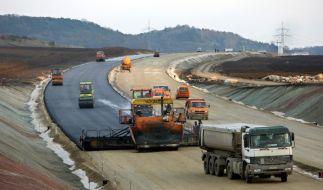 Straßenbau (Foto)